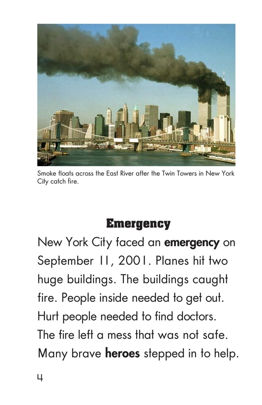 Book Preview For Heroes of September 11 Page 4