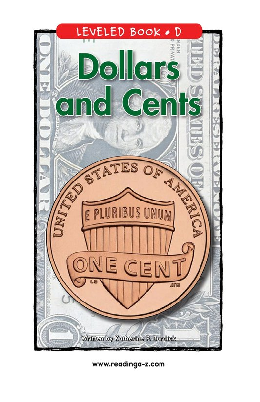 Book Preview For Dollars and Cents Page 1