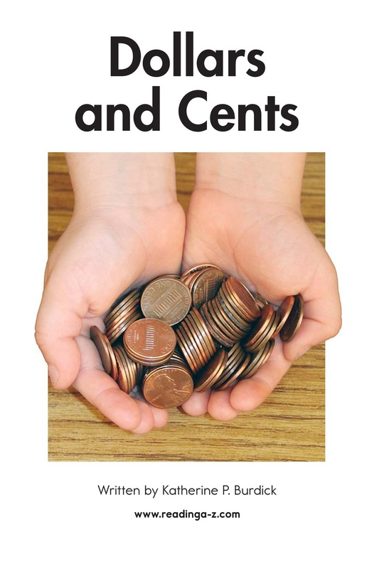 Book Preview For Dollars and Cents Page 2