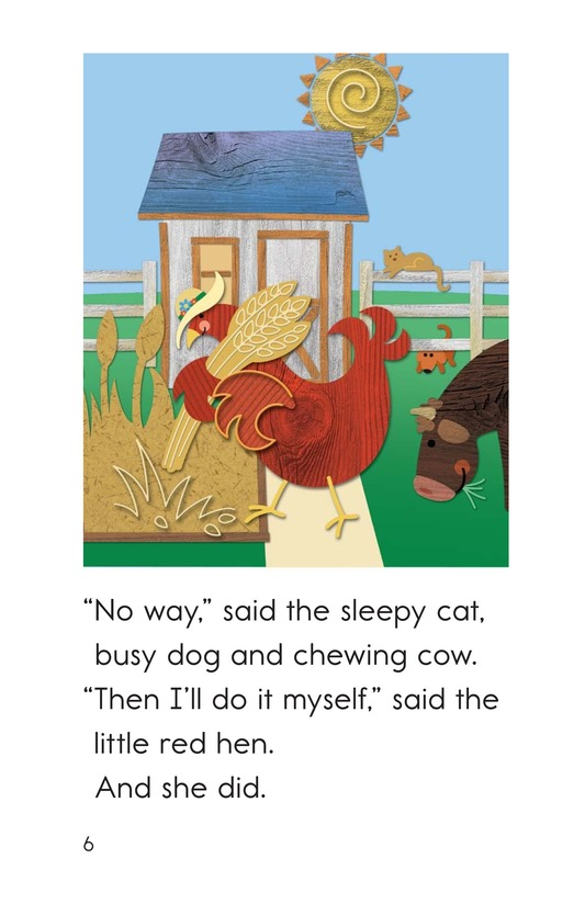 Book Preview For The Little Red Hen Page 6