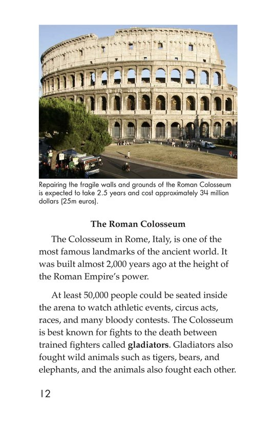 Book Preview For Seven Wonders You Can Visit Page 12