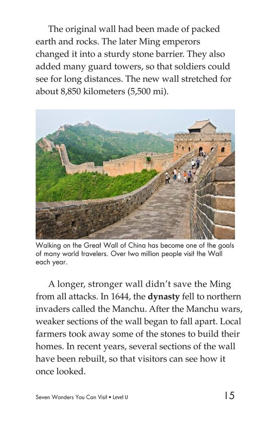 Book Preview For Seven Wonders You Can Visit Page 15