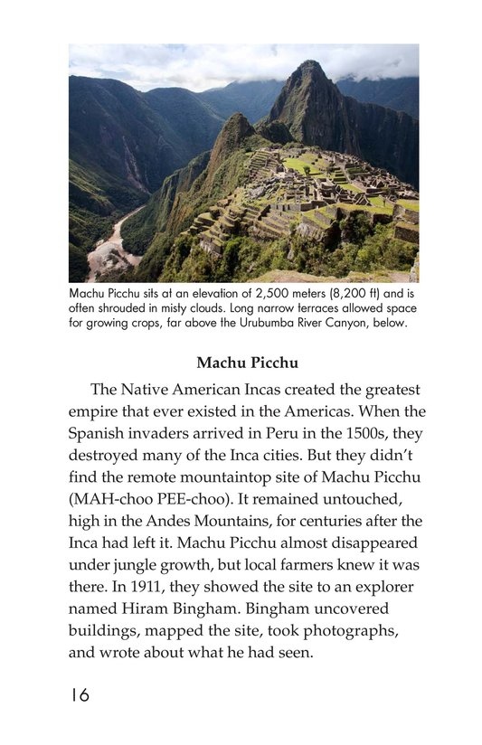 Book Preview For Seven Wonders You Can Visit Page 16