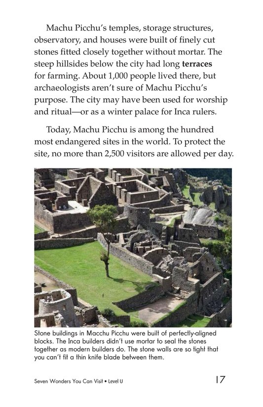 Book Preview For Seven Wonders You Can Visit Page 17
