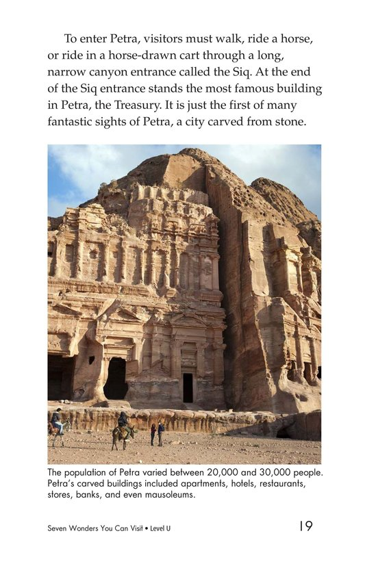 Book Preview For Seven Wonders You Can Visit Page 19
