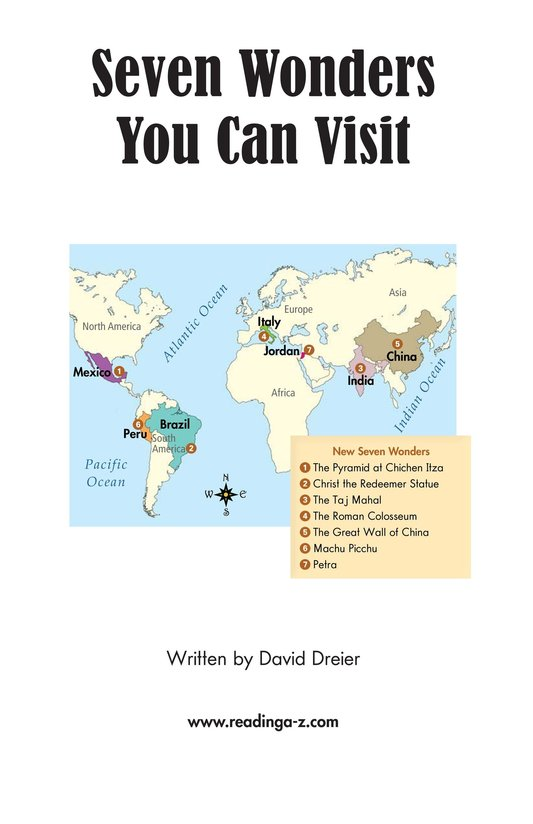 Book Preview For Seven Wonders You Can Visit Page 2