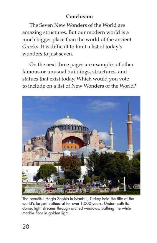 Book Preview For Seven Wonders You Can Visit Page 20