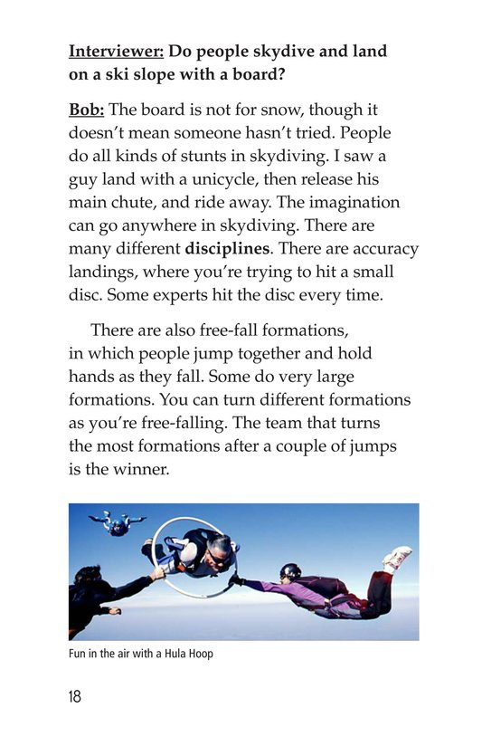 Book Preview For Skydiving Page 18