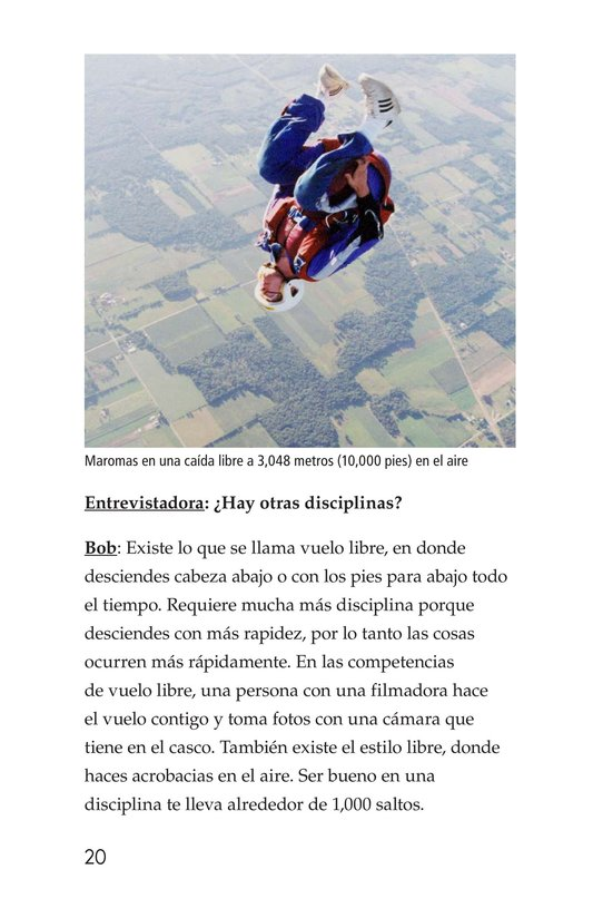 Book Preview For Skydiving Page 20