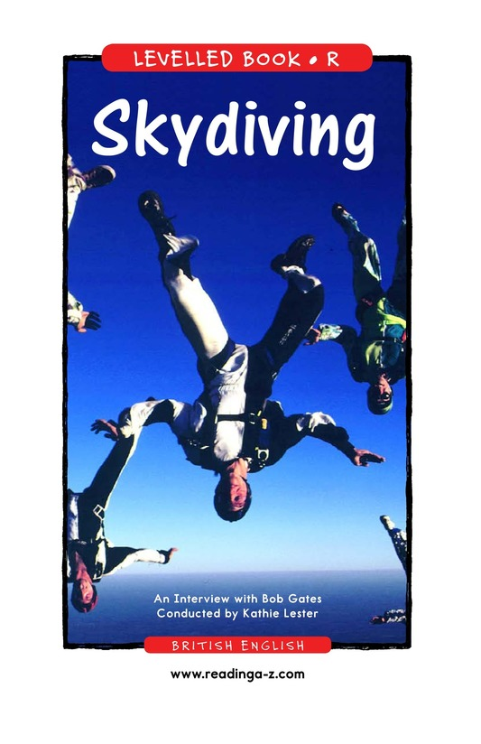 Book Preview For Skydiving Page 1