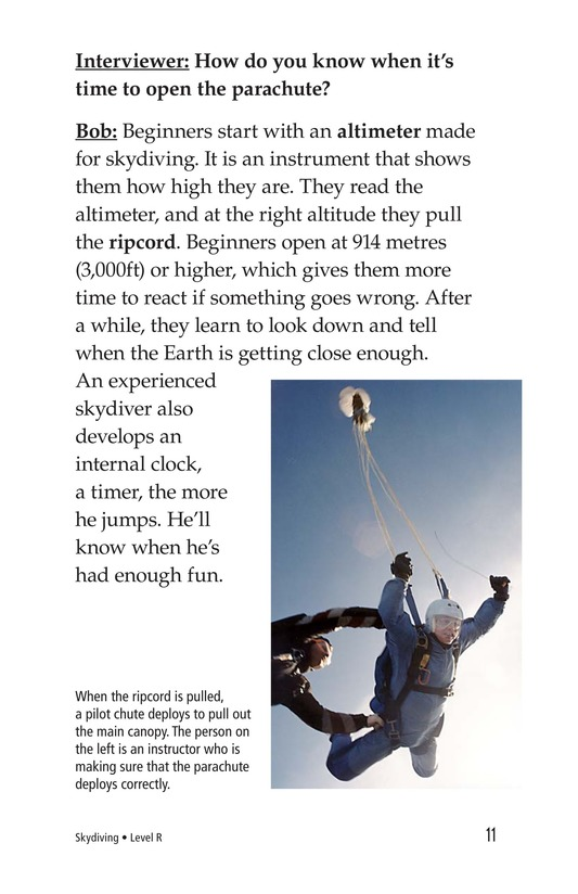 Book Preview For Skydiving Page 11