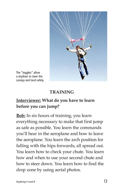 Book Preview For Skydiving Page 13