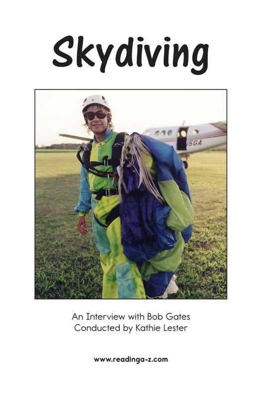 Book Preview For Skydiving Page 2