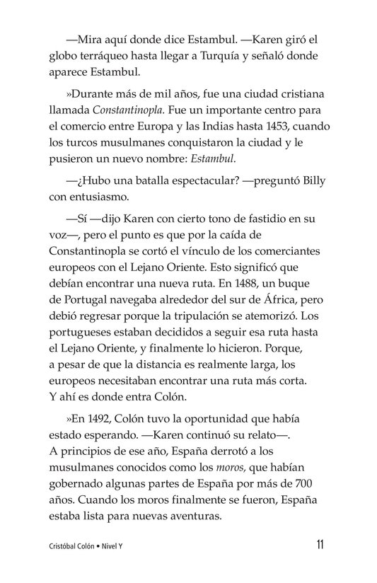 Book Preview For Christopher Columbus Page 11