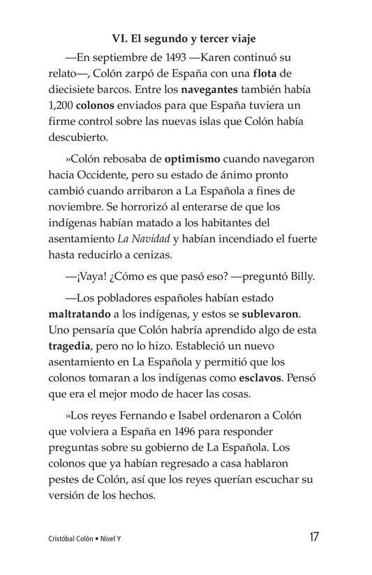 Book Preview For Christopher Columbus Page 17