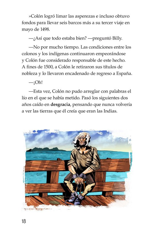 Book Preview For Christopher Columbus Page 18