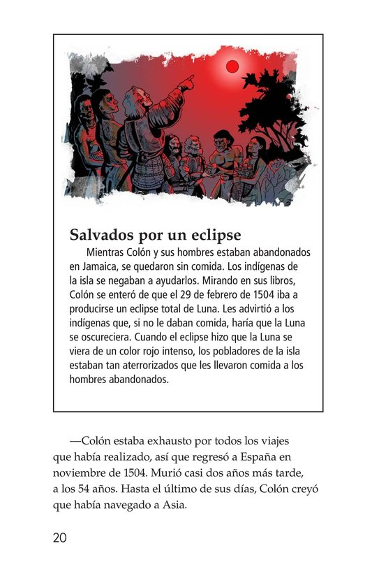 Book Preview For Christopher Columbus Page 20