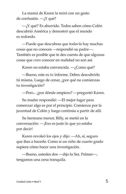 Book Preview For Christopher Columbus Page 5