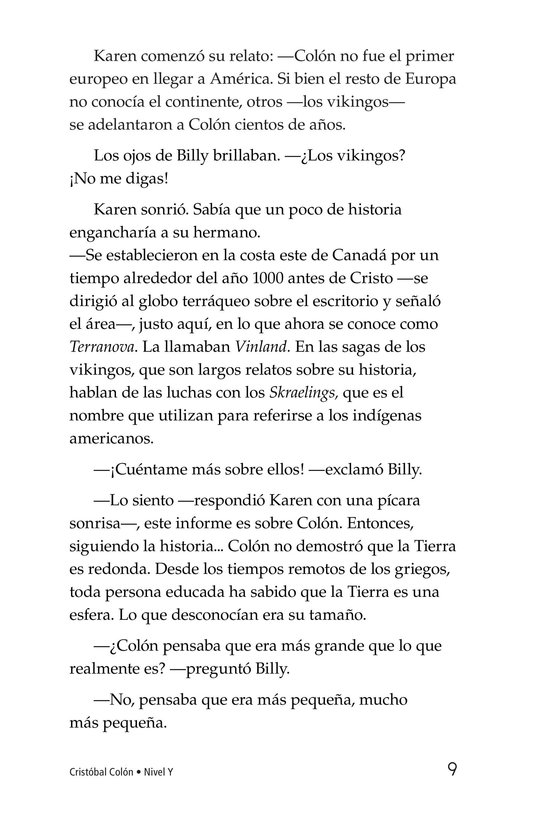 Book Preview For Christopher Columbus Page 9