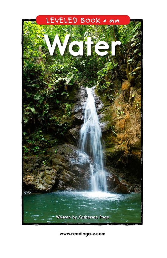 Book Preview For Water Page 1