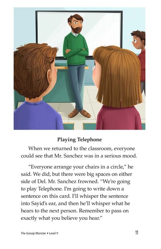 Book Preview For The Gossip Monster Page 11