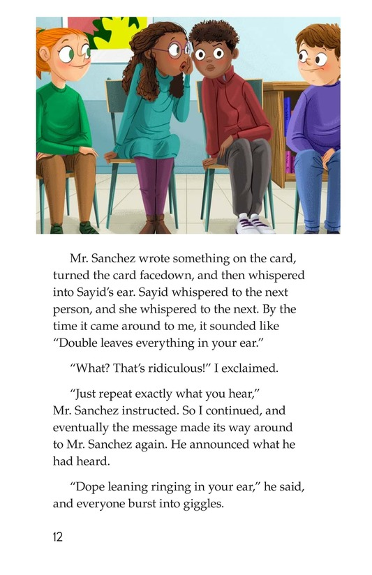 Book Preview For The Gossip Monster Page 12