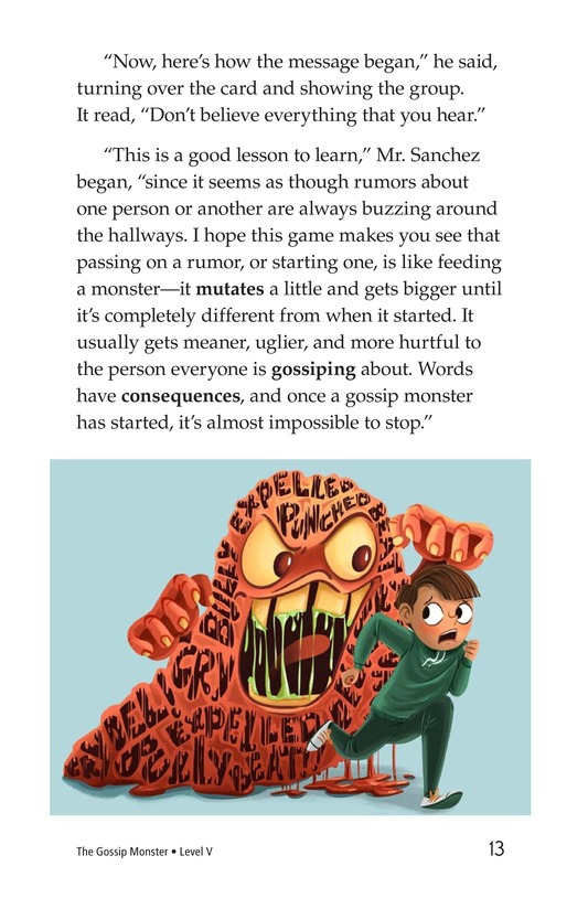 Book Preview For The Gossip Monster Page 13