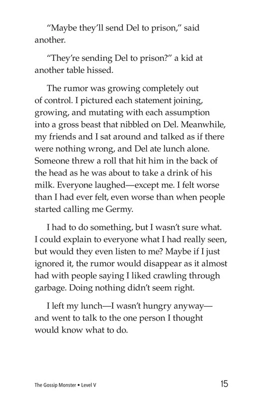 Book Preview For The Gossip Monster Page 15