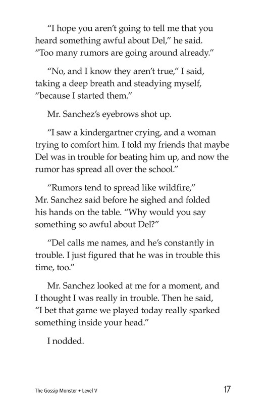 Book Preview For The Gossip Monster Page 17