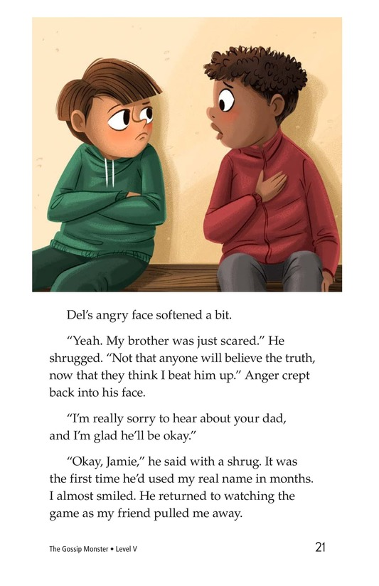 Book Preview For The Gossip Monster Page 21