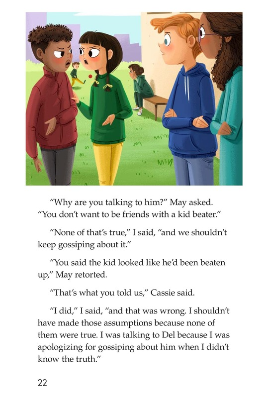 Book Preview For The Gossip Monster Page 22