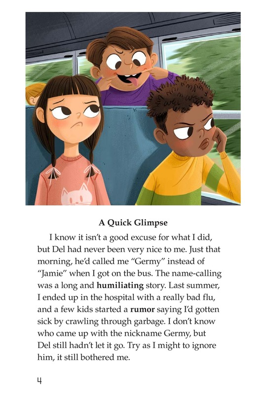 Book Preview For The Gossip Monster Page 4