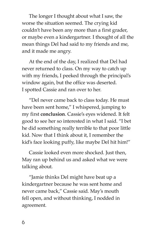 Book Preview For The Gossip Monster Page 6