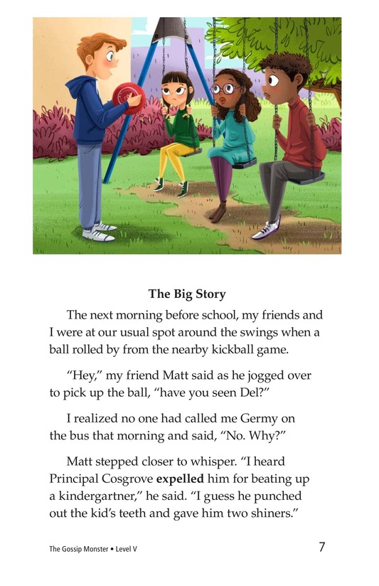 Book Preview For The Gossip Monster Page 7