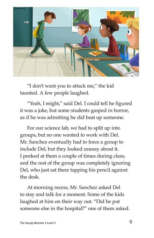 Book Preview For The Gossip Monster Page 9