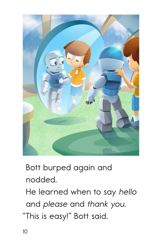 Book Preview For Rude Robot Page 10