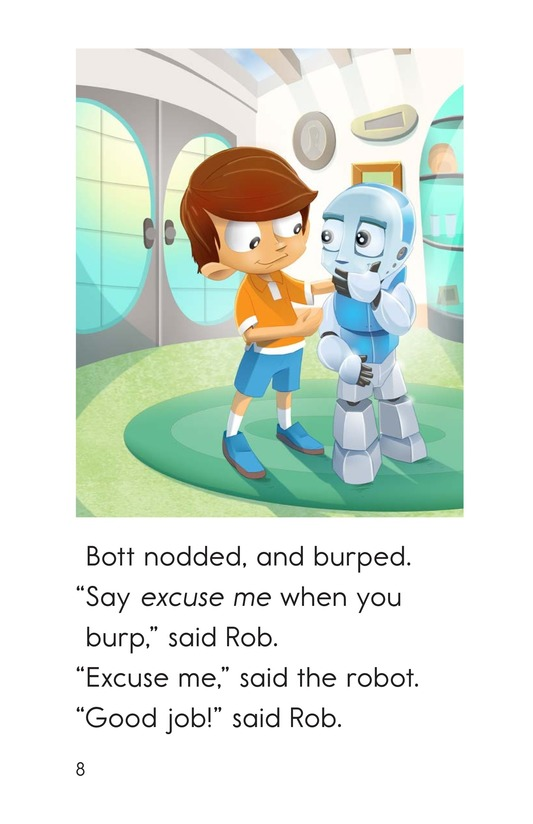 Book Preview For Rude Robot Page 8