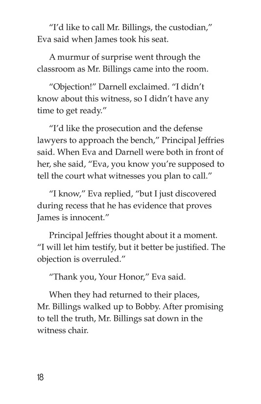 Book Preview For The School Versus James Holt Page 18