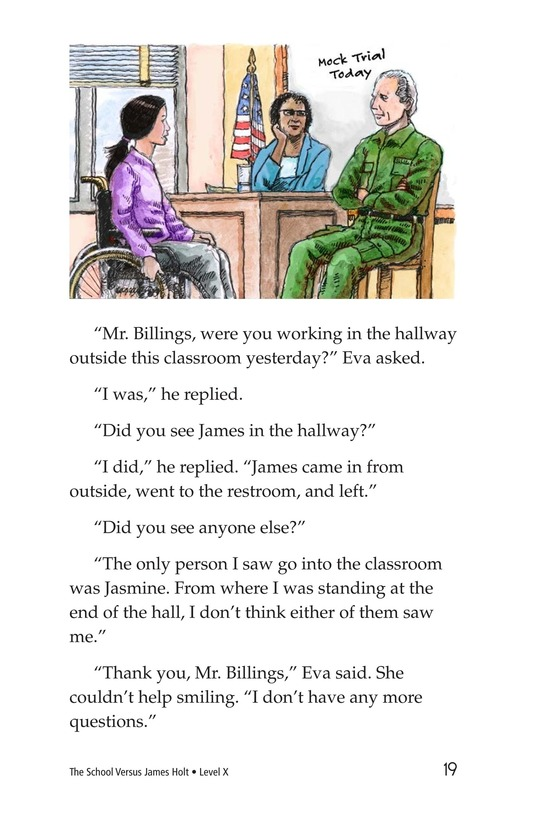 Book Preview For The School Versus James Holt Page 19