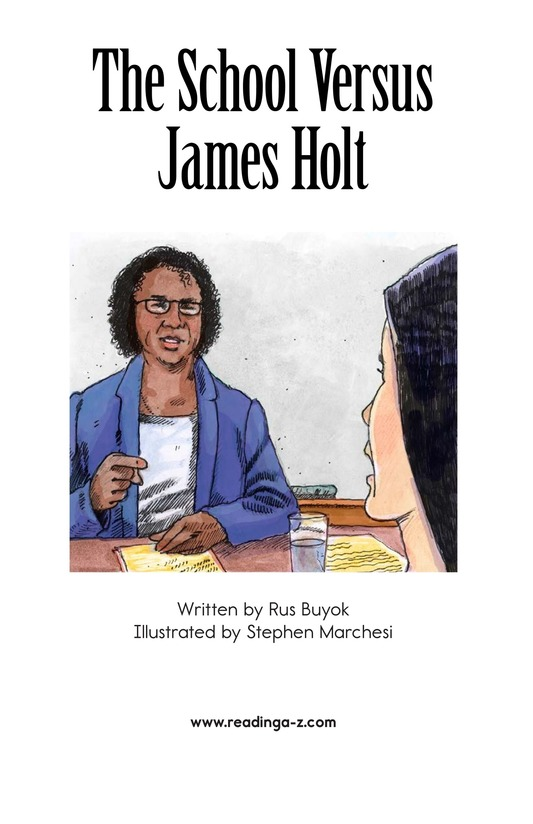 Book Preview For The School Versus James Holt Page 2