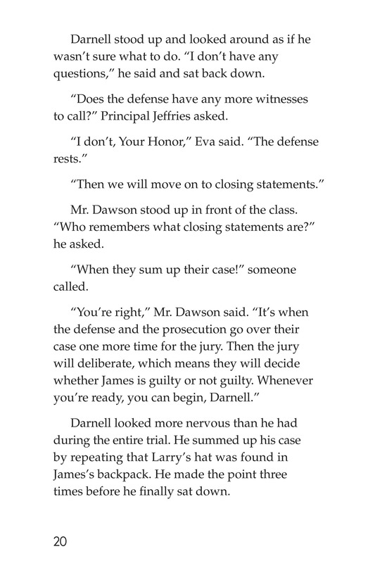 Book Preview For The School Versus James Holt Page 20