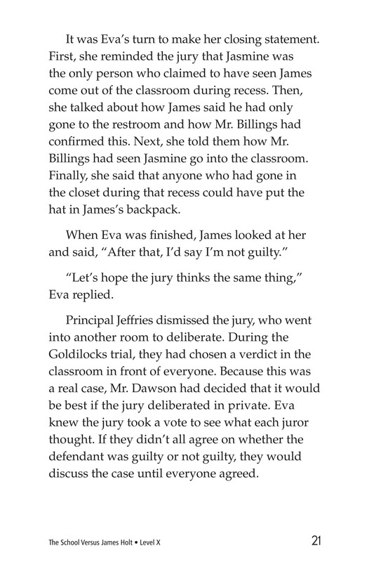 Book Preview For The School Versus James Holt Page 21