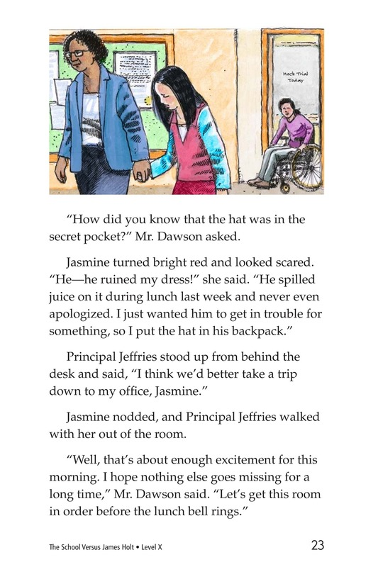 Book Preview For The School Versus James Holt Page 23