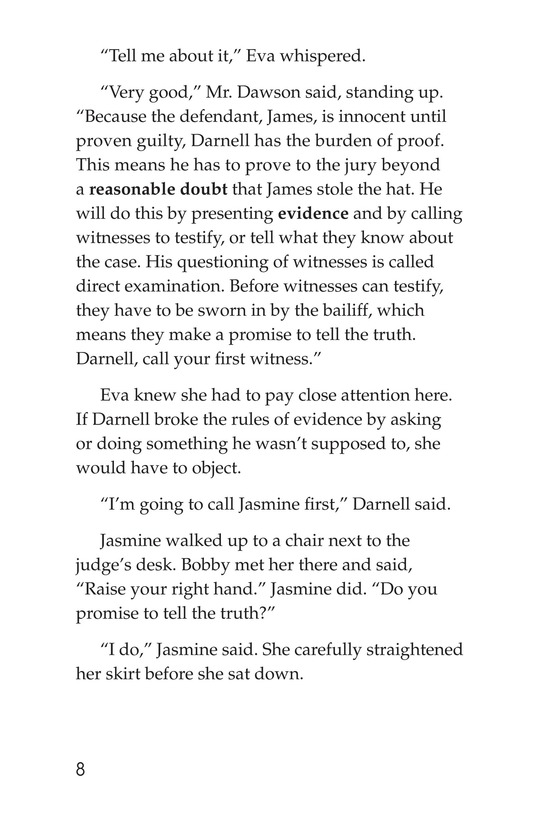 Book Preview For The School Versus James Holt Page 8