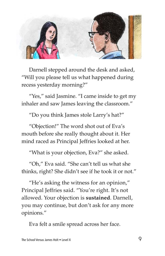 Book Preview For The School Versus James Holt Page 9