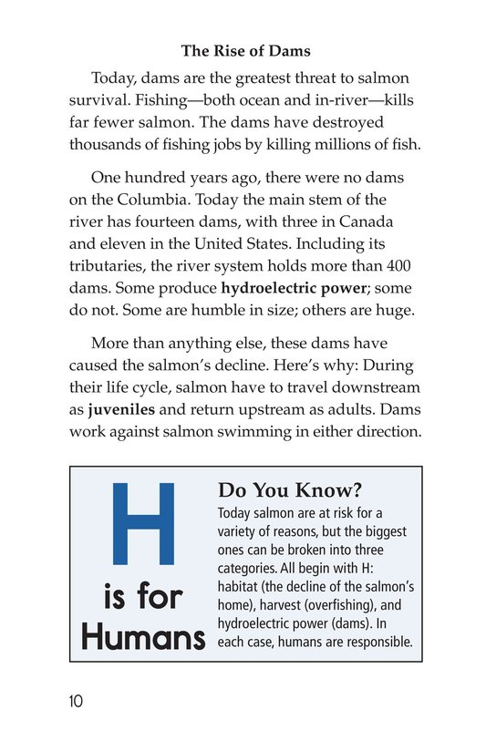 Book Preview For Saving the Salmon Page 10