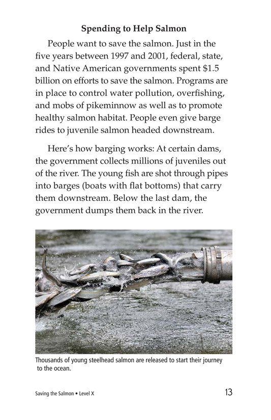 Book Preview For Saving the Salmon Page 13