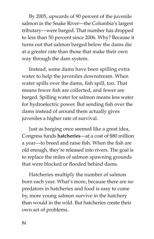 Book Preview For Saving the Salmon Page 14