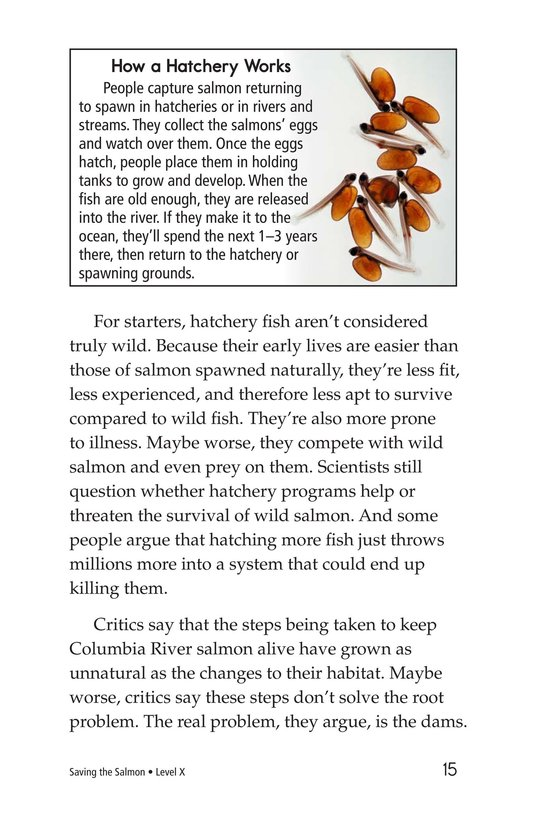 Book Preview For Saving the Salmon Page 15