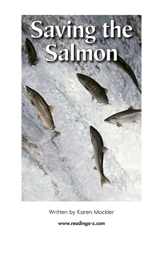 Book Preview For Saving the Salmon Page 2